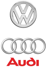 Audi Logo & VW Logo for Auto Plus